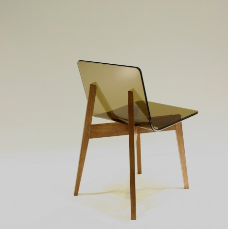 1974 Chair – Sepia (Rubber Wood)