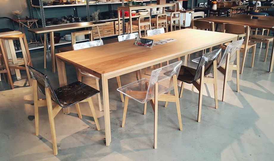 Normal Table at Showroom