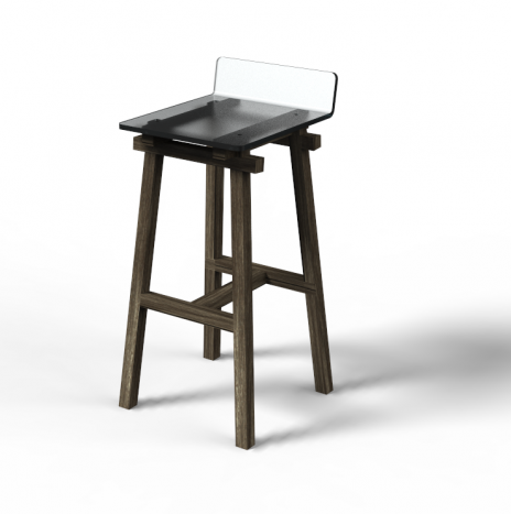 The Carpenter's Bar Stool