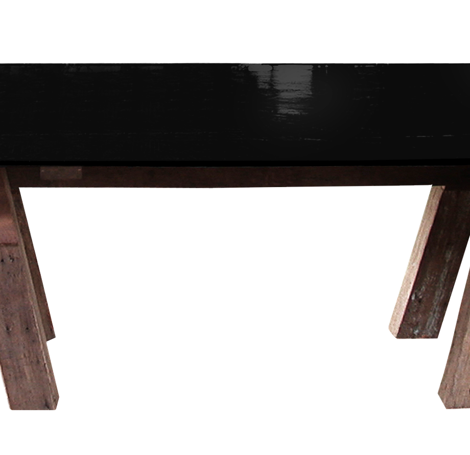 carpenter table black