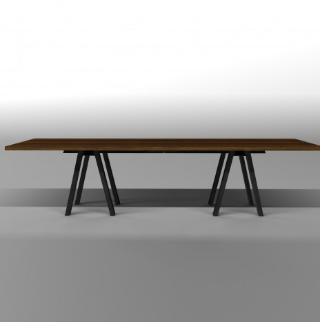 The Steel Carpenter's Table 300 cm.