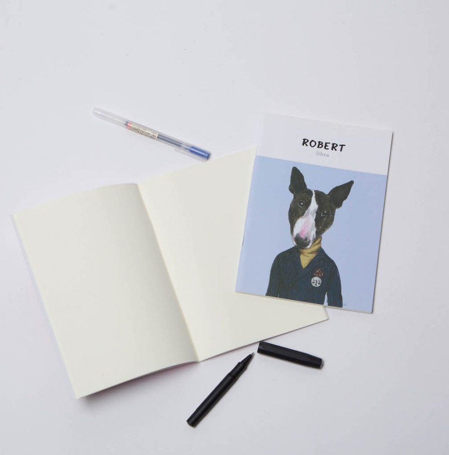 MAGAZINE NOTEBOOK : ROBERT 1