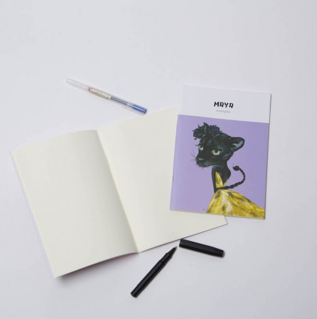 MAGAZINE NOTEBOOK : MAYA