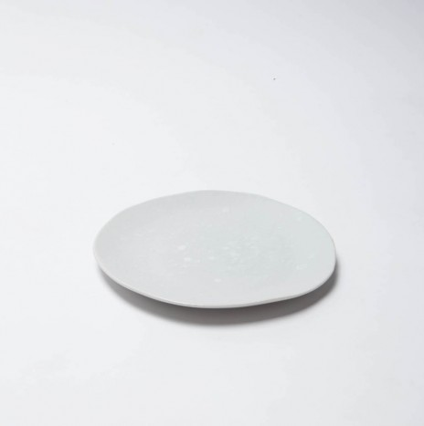 """FREE FORM  PLATE 10"""" -SNOW WHITE"""
