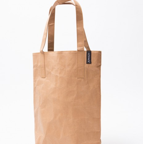 BROWN PAPER TOTE BAG (MEDIUM SIZE)