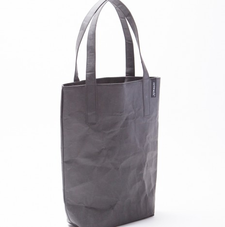 BLACK PAPER TOTE BAG (MEDIUM SIZE)
