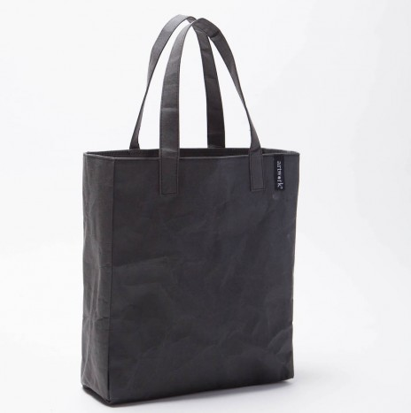 BLACK PAPER TOTE BAG (SMALL SIZE)