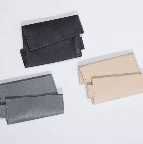 FILP&FOLD PURSE : GREY