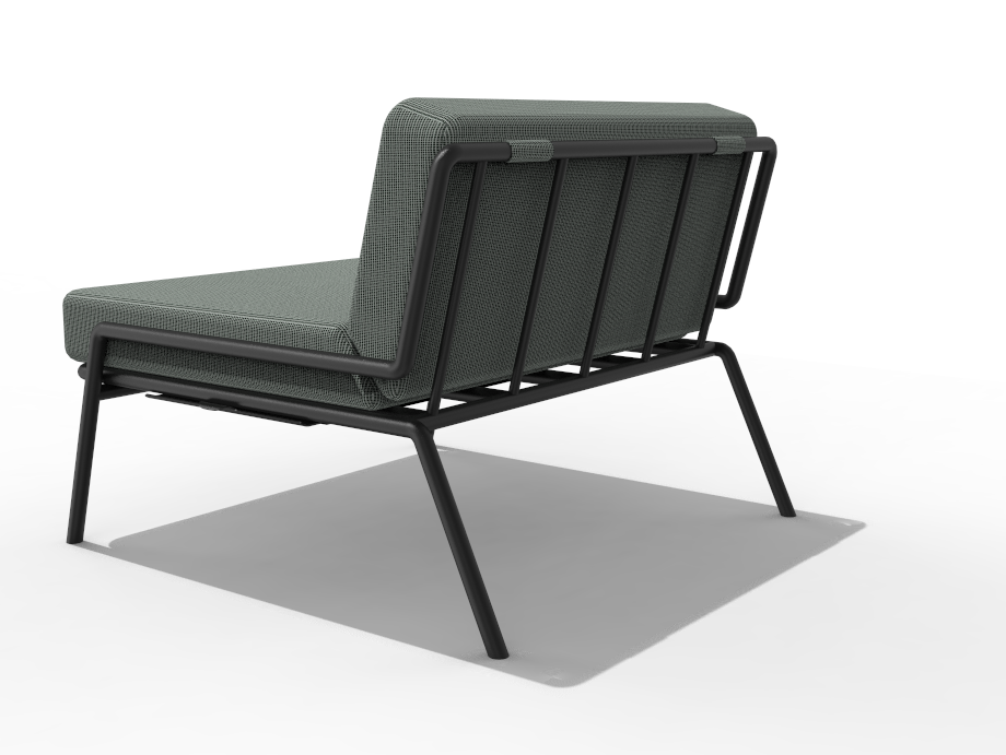 1966 Lounge Chair – Back