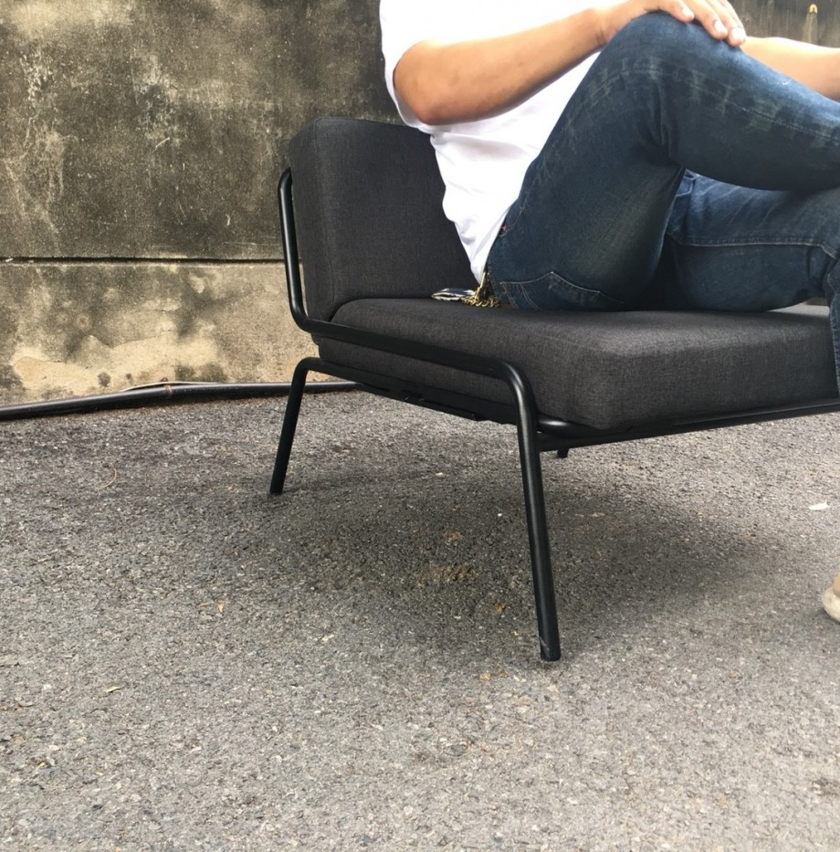 1966 Lounge Chair – Dark Grey 3