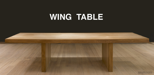 Wing Table Banner